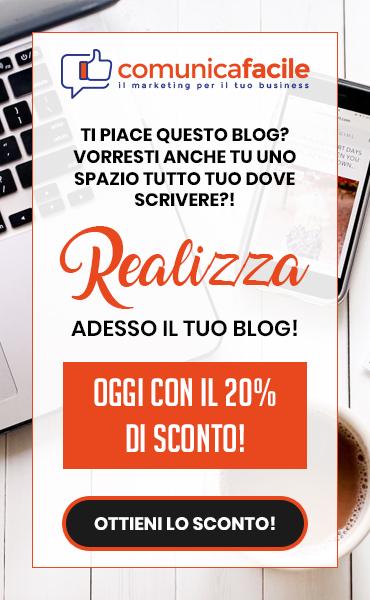 Realizza adesso il tuo blog!