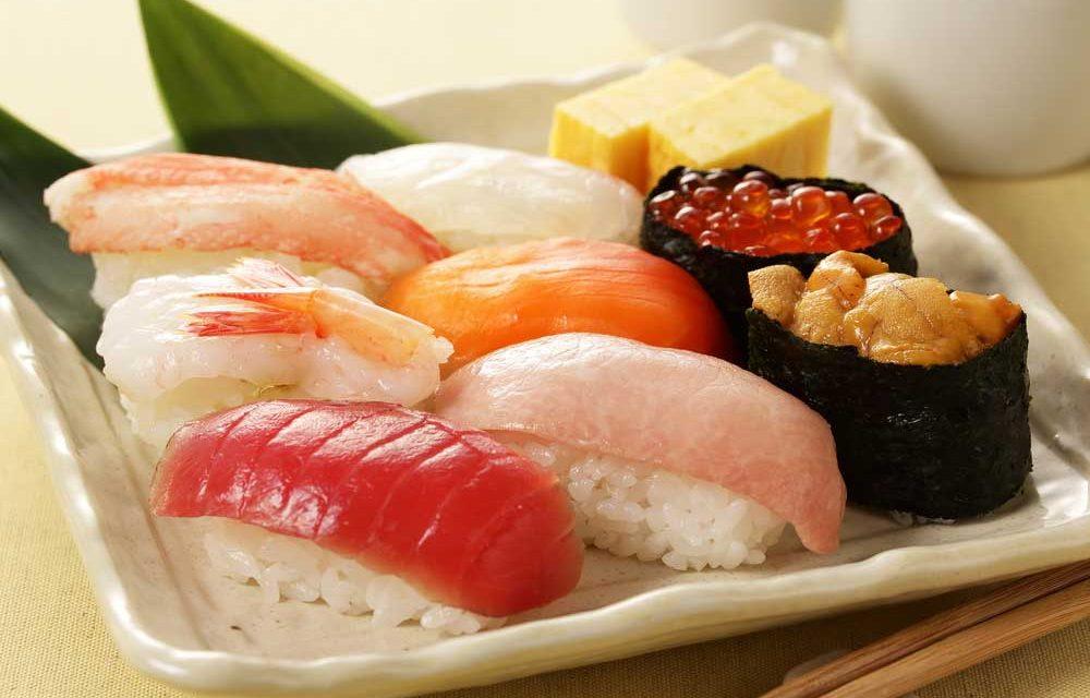 sushi al parassita di tonno