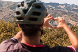 il ciclista ama l'appennino