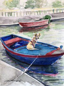 Nella Talamini Quadro barca