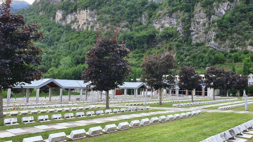 Cimitero Monumentale di Fortogna, dedicato alle vittime del Vajont